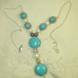 Collier BLUE BAY