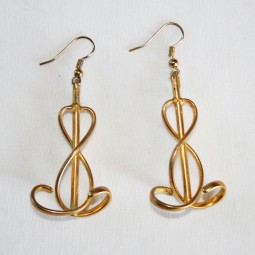 Boucles d'oreilles MUSIC - DEJA VENDUES